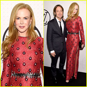 Nicole Kidman & Keith Urban Glam Up for Red Hot Date Night!