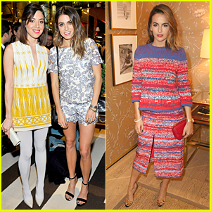 Nikki Reed & Aubrey Plaza Chat It Up at Tory Burch Celebration