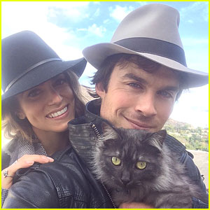 Ian Somerhalder & Nikki Reed Adopt Another Pet Together