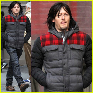 Norman Reedus Steps Out Before Big 'Walking Dead' Mid-Season Finale!