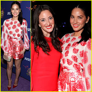 Olivia Munn Celebrates Homecoming with Just Jared & Ever After High!
