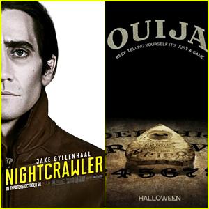'Nightcrawler' & 'Ouija' Tie For Top Spot at Halloween Weekend Box Office!