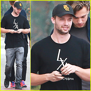 Patrick Schwarzenegger Hang Out With Friends After Date Night with Miley Cyrus