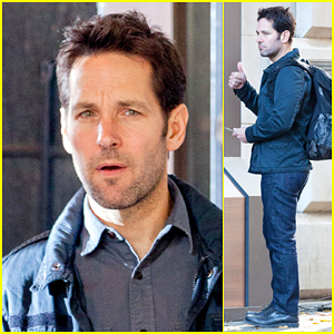Paul Rudd On Set of 'Ant-Man' Gets Us Pumped Up for the Marvel Movie