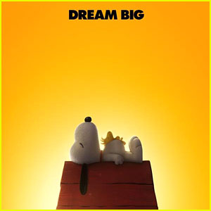 Snoopy 'Dreams Big' on New Poster for the 'Peanuts' Movie