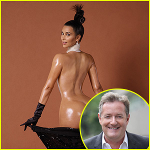 Piers Morgan Pens Op-Ed on Kim Kardashian's Naked 'Paper' Shoot: Haters 'Can Go Kiss Her Ass'