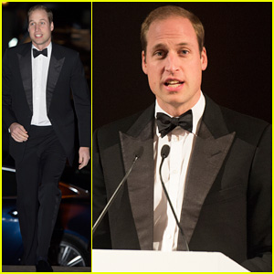 Prince William Suits Up to Celebrate SkillForce's 10th Anniversary at Gala Dinner!