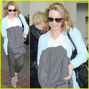 Rachel McAdams Flies to Los Angeles After 36th Birthday