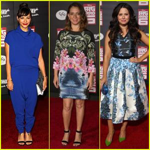 Rashida Jones Rocks Royal Blue for 'Big Hero 6' Premiere