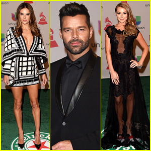 Ricky Martin & Alessandra Ambrosio Put On Their Best for the Latin Grammy Awards 2014!
