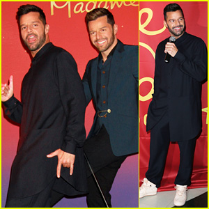 Ricky Martin Celebrates His New Wax Figure at Madame Tussauds Las Vegas!