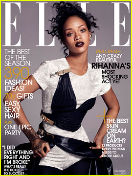Rihanna Gets Real for 'Elle' Magazine Cover Spread