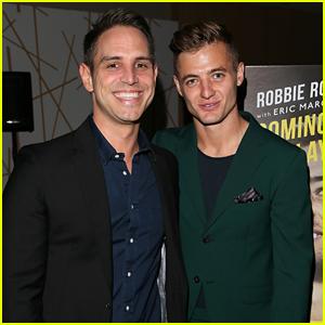 Robbie Rogers & Boyfriend Greg Berlanti Both Have Big News to Celebrate!