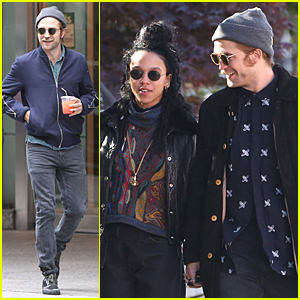 Robert Pattinson & FKA twigs Grab Lunch Together Before 'Idol's Eye' Gets Cancelled
