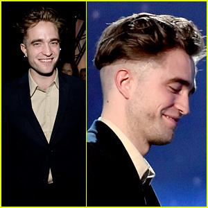 Robert Pattinson Flaunts New Hair at Hollywood Film Awards 2014!