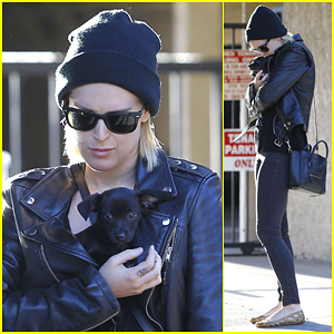 Rumer Willis Gets the Most Adorable New Puppy Delilah
