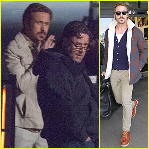 Ryan Gosling Jets to Los Angeles After 'Nice Guys' Night Scenes