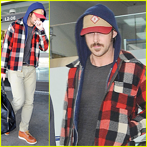 Ryan Gosling Returns to Los Angeles After Halloween