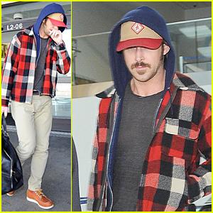 Ryan Gosling Returns to Los Angeles After Halloween