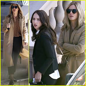 Sandra Bullock & Zoe Kazan Continue Shooting 'Our Brand Is Crisis' in Puerto Rico