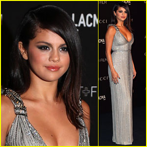 Selena Gomez Hits Up the LACMA Art + Film Gala After Low-Key Halloween