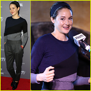 Shailene Woodley Spent Her 23rd Birthday Celebrating Producers
