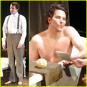 Shirtless Bradley Cooper Gets Into Character For First 'Elephant Man' Preview
