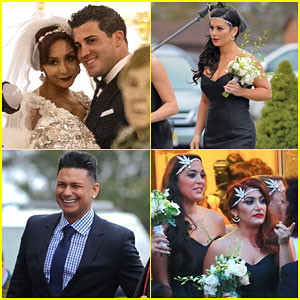 Snookis Jersey Shore Co Stars Reunite For The Big Wedding