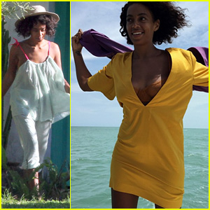 Solange Knowles & New Husband Alan Ferguson Enjoy Relaxing Honeymoon in Brazil