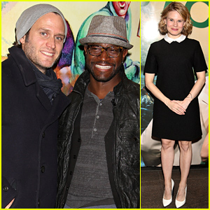Taye Diggs Lends His Support to the Off-Broadway Scene