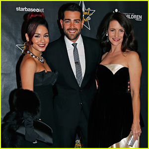 Vanessa Hudgens Hosts Hollywood Domino Dallas Charity Event with Kristin Davis & Jesse Metcalfe