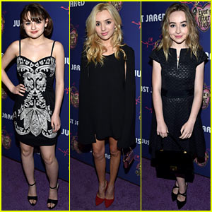 Joey King, Peyton List, Sabrina Carpenter & More Fresh Faces Hit Just Jared's Homecoming Dance