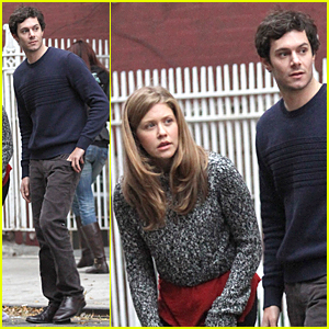 Adam Brody & Wife Leighton Meester Bonded Over Music