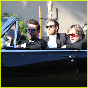 Adam Levine Heats Up Hollywood for New Music Video Shoot