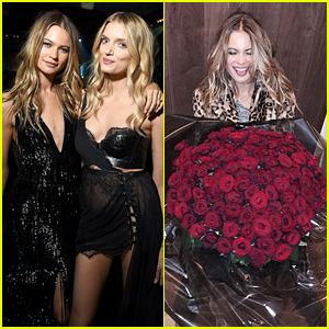 Adam Levine Sends Wife Behati Prinsloo Roses for Missing Victoria's Secret Fashion Show 2014