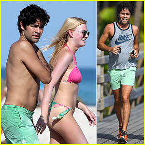 Shirtless Adrian Grenier Soaks Up the Sun to Celebrate End of 2014