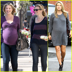 'Varsity Blues' Reunion! Ali Larter & Amy Smart Go Baby Shopping Together!