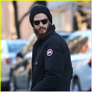 Andrew Garfield Ventures Out Solo in the Big Apple