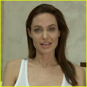 Angelina Jolie Has Chicken Pox, Sends Fans a Video Message