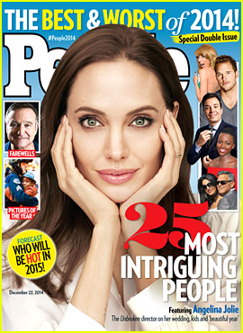 Angelina Jolie Recalls Her Biggest Moments of 2014 for 'People' Mag Cover, Including Marriage to Brad Pitt