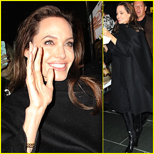 Angelina Jolie Surprises More Fans with Pictures
