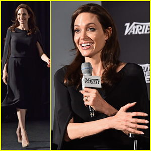 Angelina Jolie Takes Break From Promoting 'Unbroken' for 'Difret' Variety Series Screening!