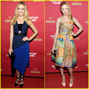 Anna Camp & Heather Graham Get Glam for 'Goodbye To All That' New York Premiere!
