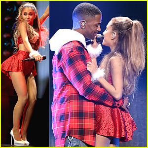 Ariana Grande & Big Sean's Hot Chemistry Heats Up the Jingle Ball 2014 Stage