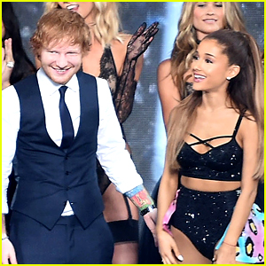 Victoria's Secret Fashion Show 2015 Ed Sheeran ariana grande told ed sheeran
