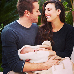 Armie Hammer & Wife Elizabeth Chambers Debut Baby Harper's First Photo!