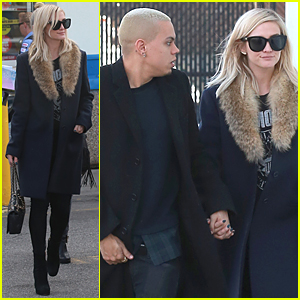 Pregnant Ashlee Simpson & Evan Ross Step Out After Baby News