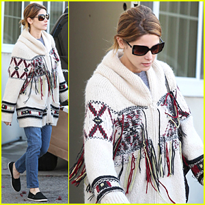 Ashley Greene Finds Good Luck Sign After Sony Pictures Hack