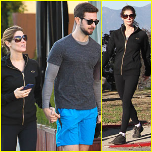 Ashley Greene & Paul Khoury Get Back Into Fitness After the Holidays