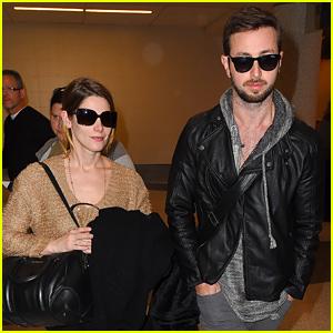 Ashley Greene & Boyfriend Paul Khoury Wrap Up the Thanksgiving Weekend